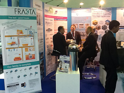 FRAKTA-Messestand auf der BIG 5 2012 in Dubai